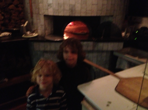 Jacob and Carl at Revolution House