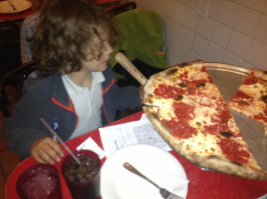 Jacob at Gennaro's