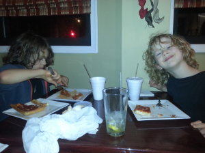 Jacob & Carl at Santucci's