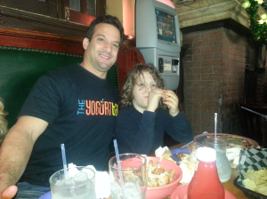 Jacob and Uncle Larry at McGillin's
