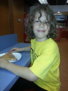Jacob at Rosa's